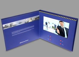 7inch Screen Brochure Universal Video Greeting Cards Fashion Design Video Advertising Cards pictures & photos