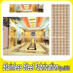 Interior Modern Color Coated Stainless Steel Wall Cladding for Hotel pictures & photos