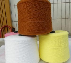 Cationlic Dyed Coloured Polyester Yarn pictures & photos