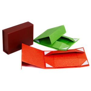 Quality Special Color Paper Folding Gift Boxes pictures & photos