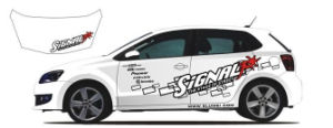 Good Quality Vinyl Car Wrap Clear Sticker Catoon Style pictures & photos
