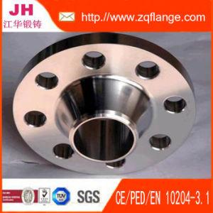 JIS 5k Sch80 Welding Neck Carbon Steel Flange pictures & photos