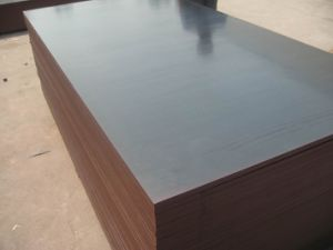 Concrete Forming Plywood with Brown Film Faced pictures & photos