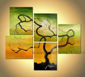 Landscape Oil Painting / Abstract Tree Painting pictures & photos
