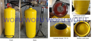 2kg Portable Dry Powder Fire Extinguisher for Colombia pictures & photos