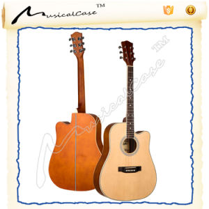 Custom 41 Inch Sprucewood Left Handed Guitar for Beginner pictures & photos