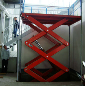 Best Price Hydraulic 2000kg Stationary Scissor Lift pictures & photos