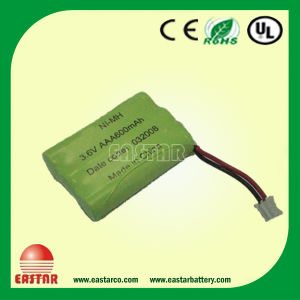Ni-MH Battery 3.6V 1000mAh pictures & photos