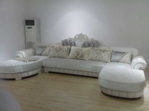 High Quality Dubai Sofa, New Classic Fabric Sofa (893) pictures & photos