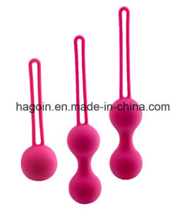 Custom Medical Grade Silicone Rubber Love Balls for Virgina Exercise, Virgina Tighter pictures & photos