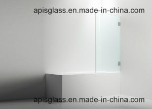 Frameless Shower Door Tempered / Toughened Screen Panel Glass with Cutout / Notch for Walk-in Shower Enclosure Wet Room pictures & photos