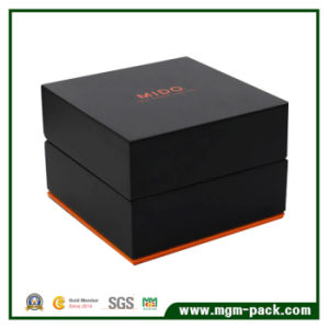 High Quality Solid Wood Lacquered Watch Box pictures & photos