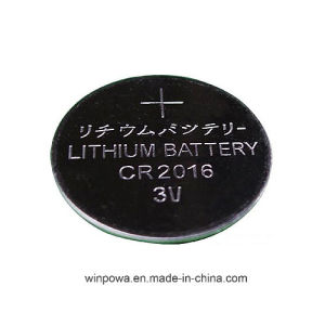 Cr2016 3V Lithium Button Cell Battery 5 Packs