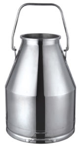 Stainless Steel Milk Bucket for Dairy pictures & photos
