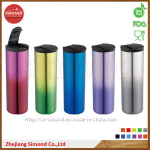 500ml Food Grade Stainless Steel Starbuck Cup (SD-8024) pictures & photos