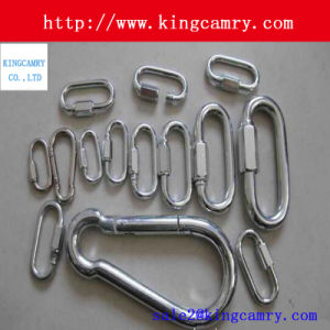 Stainless Steel Chain Rigging Stainless Steel Spring Snap Hook Carabiner pictures & photos