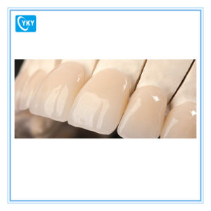 Top Translucency Dental Zirconia Disc for Single Crown Anterior Teeth Inlay/Onlay pictures & photos