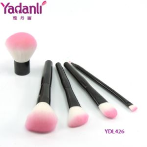 Foundation Powder Blush Makeup Brush Set with Synthedit Nylon Hair