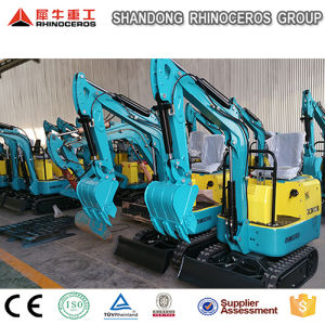 China Mini Digger 800kg Machines Construction Excavator Bucket pictures & photos