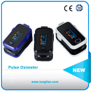 CE Approved Hot Selling Finger Pulse Oximeter with LCD Screen pictures & photos