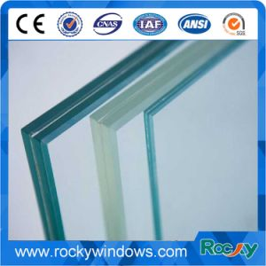 6.38mm-12.38mm Clear Laminated Glass with Ce, CCC, ISO Certificate pictures & photos