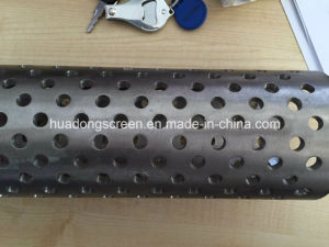 AISI 304 Perforated Hole Slot Casing Pipe Used in Foundation Pit Dewatering pictures & photos