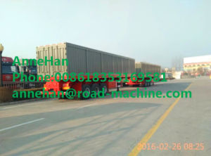 Shmc Van Type Semi Trailer Trucks 40 Ton Payload Semi Van Box Trailer