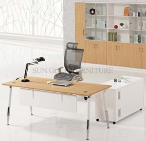 First Rate Boss Office Furniture, Hot Selling Melamine Wooden Office Desk (SZ-OD315) pictures & photos
