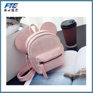 Ladies Fashion PU Backpack with Low MOQ pictures & photos