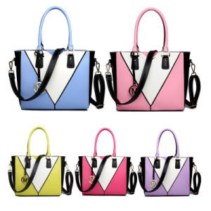 Branded High-Quality Leather Lady Handbag Bag pictures & photos