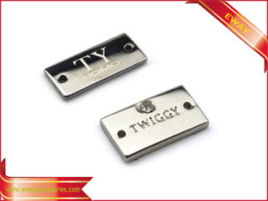 Garment Tag Metal Label Brand Name Tag Clothing Label pictures & photos