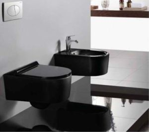 Hot Sale P-Trap Washdown Wall Hung Toilet (W1048K) pictures & photos