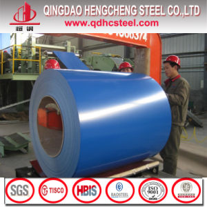 22 Gauge G40 Hot Dipped PPGI Color Coated Steel Sheet Coil pictures & photos