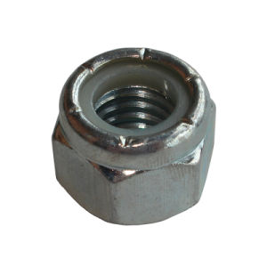 DIN985 Hex Nut Inserted with Nylon Ring pictures & photos