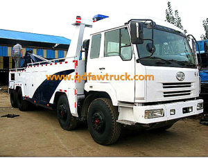 Wrecker towing truck Special truck, 20-30 Tons Road Tow Wrecker Truck pictures & photos