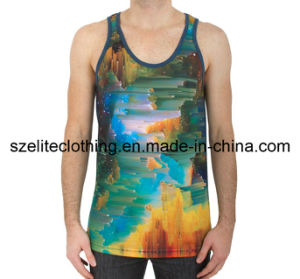 Summer Cool Sublimation Printing Tank Tops for Men (ELTMBJ-1) pictures & photos