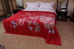 Raschel Mink Wool Blanket (MQ-RWB002) pictures & photos