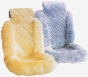 Universal Fit Sheepskin Car Seat Cover Front Seat Only pictures & photos