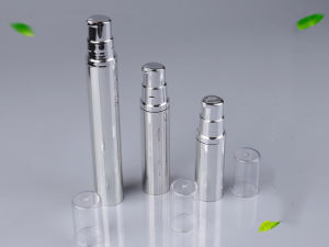 Natural Color Empty Airless Bottle for Cosmetic Cream (NAB12) pictures & photos