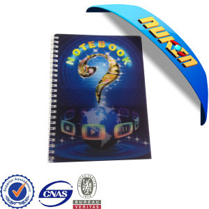 OEM 3D Cover Notebook for Promotion pictures & photos