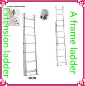 Extension Folding Ladder /Aluminum a Frame Ladder (DLE207) pictures & photos