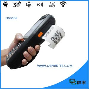 Wireless Mobile POS Terminal Android Barcode Scanner with Thermal Printer pictures & photos