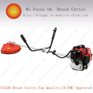 High Quality 51.7cc Side-Attached Brush Cutter with 1e44f Engine