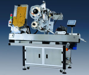 Automatic Single Hopper Horizontal Round Labelling Machine pictures & photos