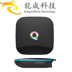 Smart WiFi Amlogic S905 Q Box 4k Quad Core Android TV Box 2g/16g Q Box Kodi Dual Band WiFi Android Smart Ott OEM. ODM Support pictures & photos