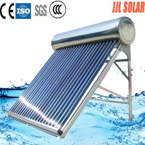 Pressurized Heat Pipe Type and Thermosyphon (Passive) Heating System High Quality Pressurized Heat Pipe Solar Water Heater pictures & photos