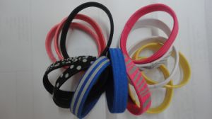 Thick Noctilucent Hair Elastics pictures & photos