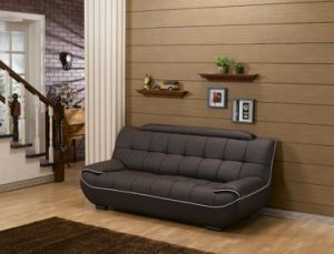 New Modern Living Room Furniture Hotel Bedroom Leather Sofa (2seater) pictures & photos