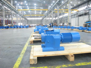 Cr Helical Gear Box, Helical Geared Motor pictures & photos