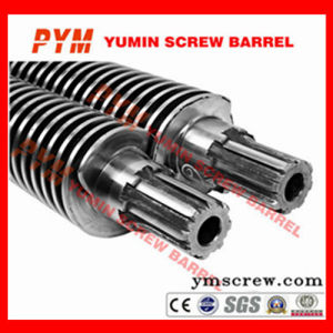Twin Screw Barrel 51/105 Bimetalic Extruder PVC Sheet pictures & photos